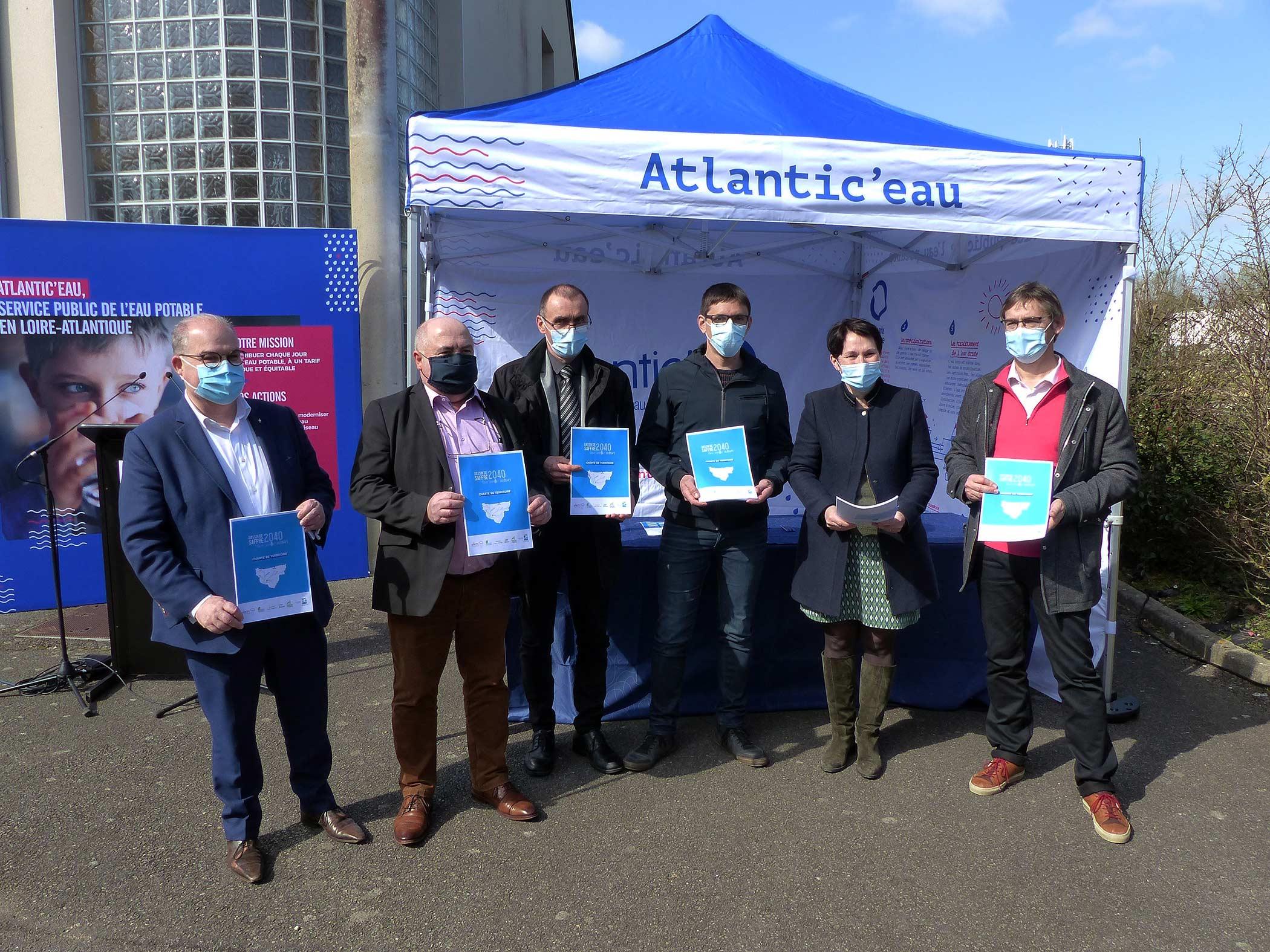 Signature de la charte Bassin de Saffré : tous InnEAUv'ACTEURS !