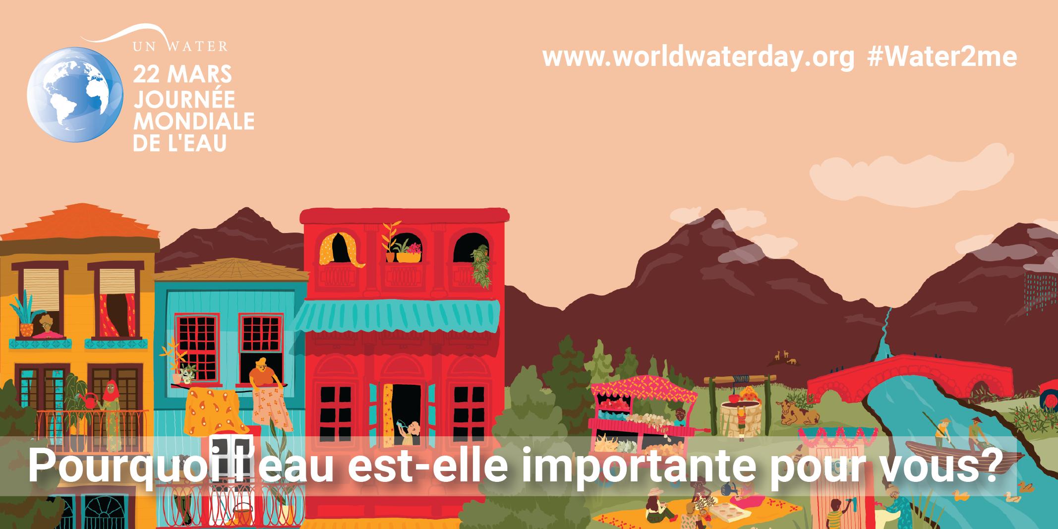 Jounré mondiale de l'eau 22 mars Syndicat chère don Isac